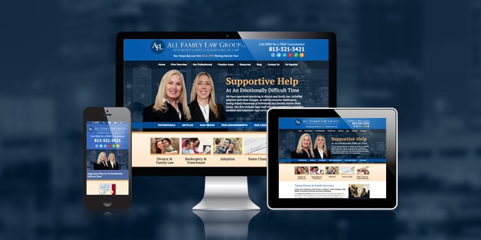 Attorney & Law Firm Responsive Website